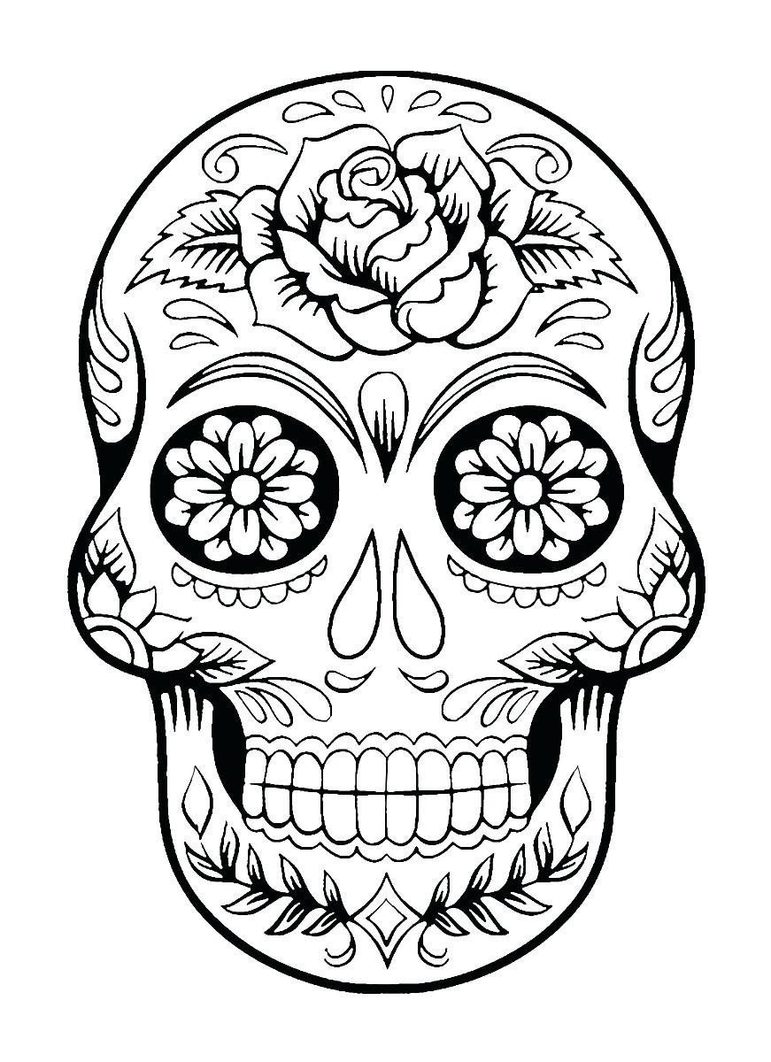 Dia De Los Muertos Art And Coloring Book Arte Para Colorear