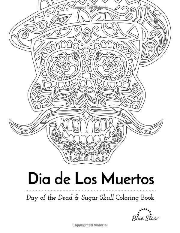 Dia De Los Muertos Dibujos Para Colorear Calaveras Catrina