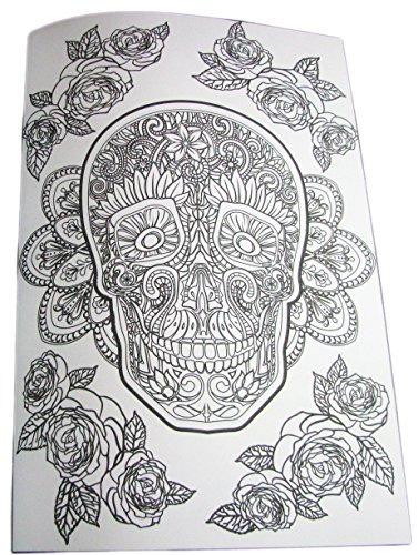 Día De Los Muertos Libro De Colorear Avanzado - $ 200.000 en Mercado ...