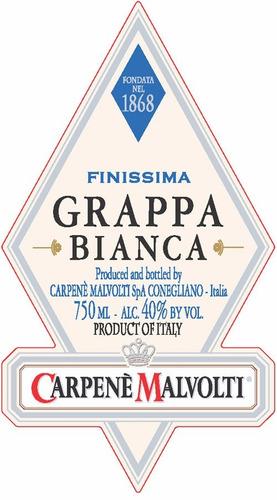 dia del amigo grappa italiana carpene malvolti bianca 750ml