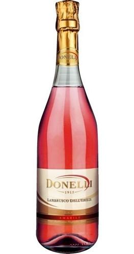 dia del amigo vino italiano donelli lambrusco rosato amabile
