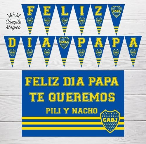 dia del padre foto poster cartel personalizado y banderín