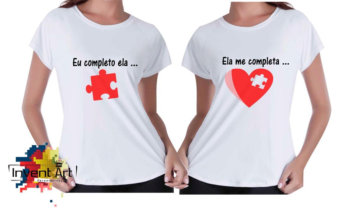 Dia Dos Namorados Camisas Personalizadas Você Me Completa