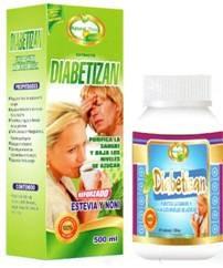 diabetizan natural plus cap x 100 ext x 500ml