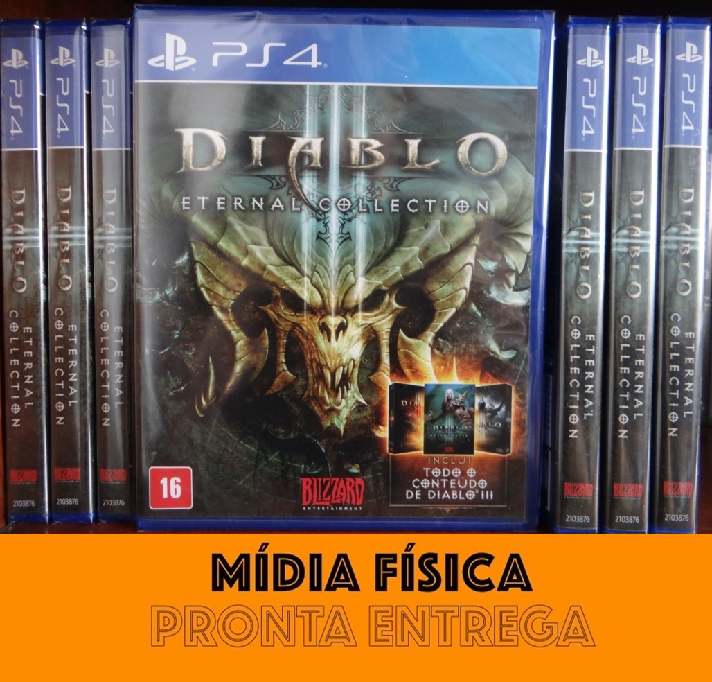 Diablo 3 Iii Eternal Collection Ps4 Midia Física Lacrado