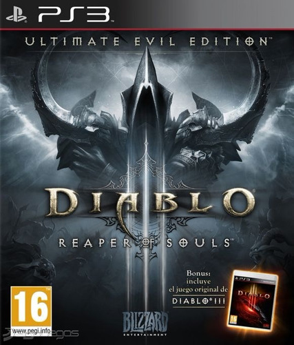diablo 3 iii reaper of souls + dlc ultimate evil ps3 digital