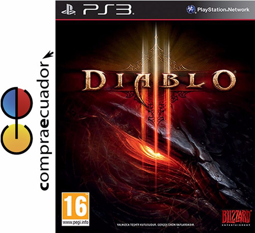 diablo 3 ps3 juego fisico original sellado playstation 3