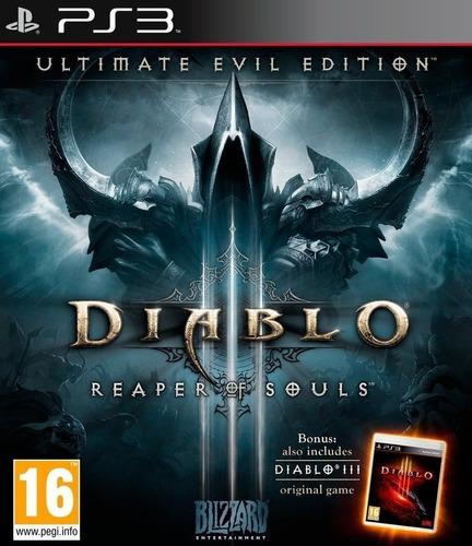 diablo 3: reaper the souls ps3 original entrega inmediata