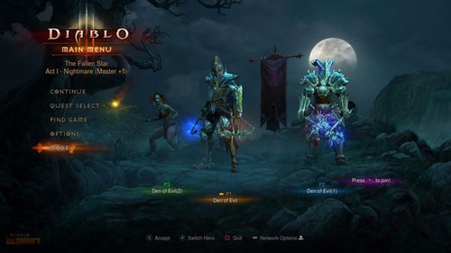 diablo 3 reapers of souls ps3 digital