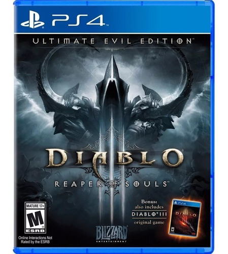 diablo 3 ultimate evil edition ps4 fisico sellado env gratis