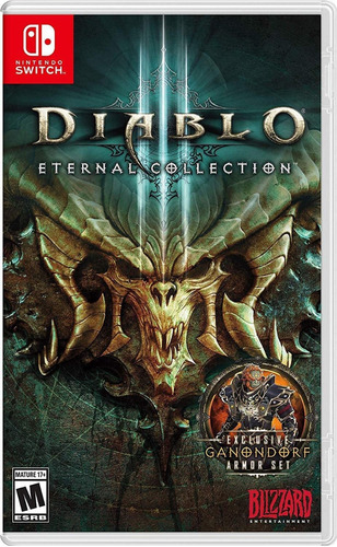 diablo iii: eternal collection - juego físico switch