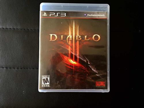 diablo iii ps3- juego físico