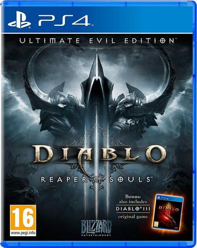 diablo iii reaper of souls eu -ps4 -juego fisico - megagames