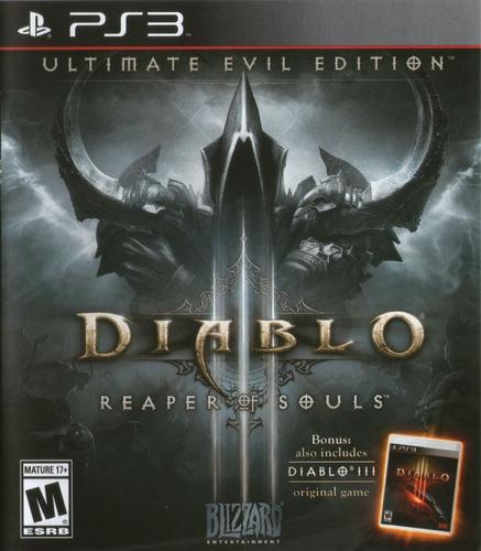 diablo iii: reaper of souls, ps3.