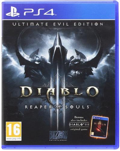 diablo reaper of souls - playstation 4