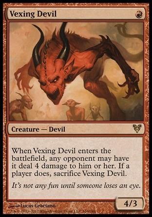 diabo irritante / vexing devil - avacyn restored
