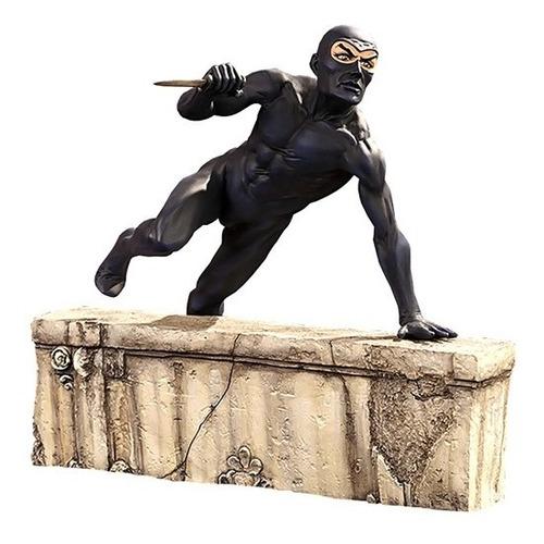 diabolik estatua 1/6 - infinite statue - robot negro