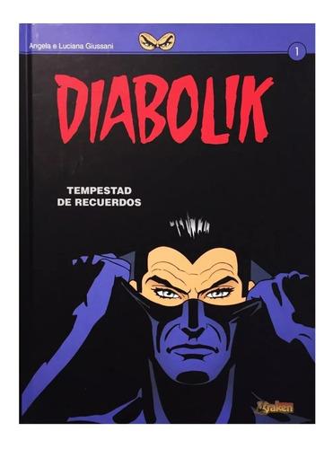 diabolik - tempestad de recuerdos - ed. kraken - tapa dura