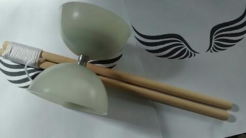diabolo yoyo profissional com luz baqueta md (ioio)