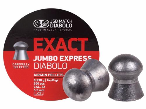 diabolos jsb exact express 0.22  x 500