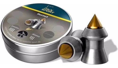 diabolos municion h&n 0.22 x 200 und hornet bronce c2909