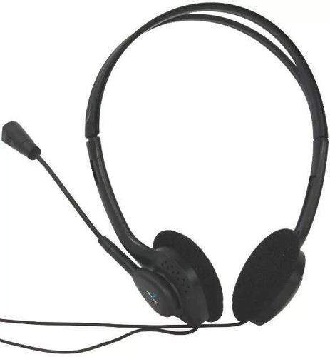 diadema acteck am-370 negro c/mic 3.5mm muaa-005