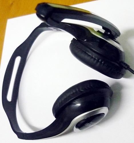 diadema audifonos+microfono ideal para videoconferencia hm4