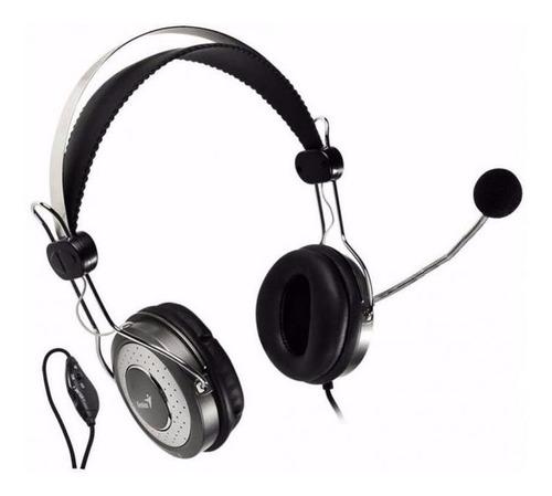 diadema con microfono genius hs-04su