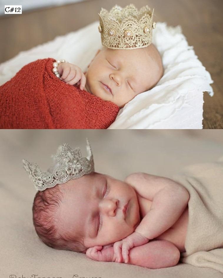 diadema corona princesa nia bebe accesorios sesion de fotos