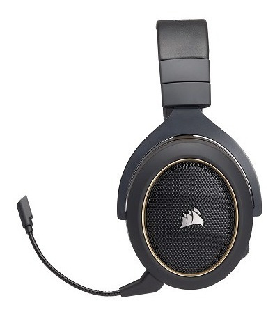 diadema corsair hs70 se inalambrica usb 7.1 gold gamer