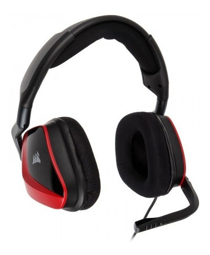 diadema corsair void pro 7.1 gaming surroung red 3,5 mm usb