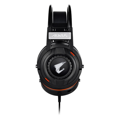 diadema gamer aorus h5 rgb fusion jack 3.5mm stereo 50mm
