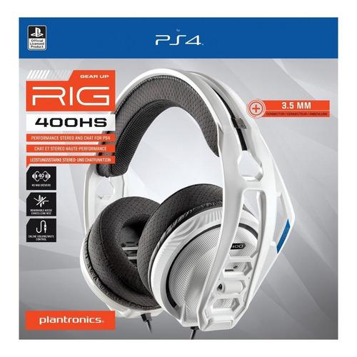 diadema gamer plantronics rig 400hs microfono para ps4 pc