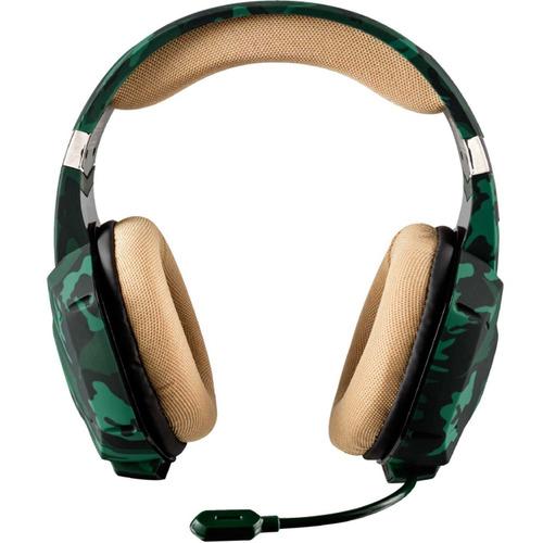 diadema gamer trust gxt 322c jungle camo xbox one ps4 pc
