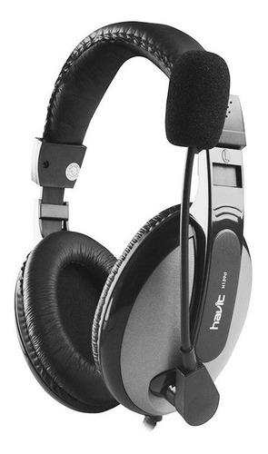 diadema havit hv-h139d audifono 3,5 headset microfono chat