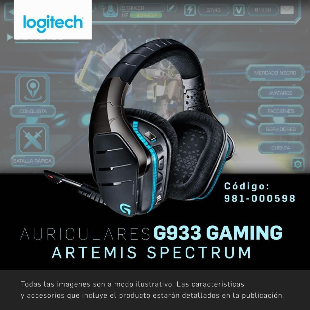 Diadema Logitech G933 7 1 Inalámbrico Pc Ps4 Xbox One