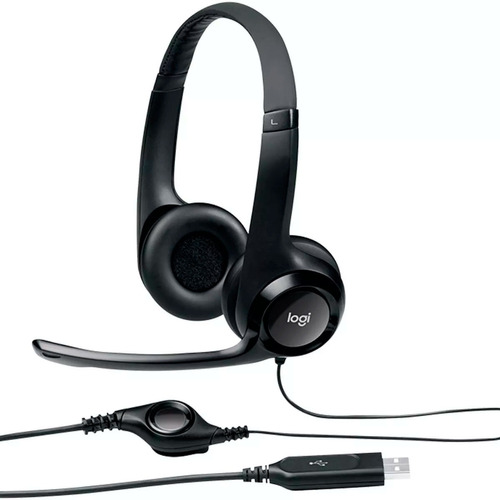 diadema logitech h390 con microfono clearchat 981-000060