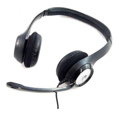 diadema logitech h390 con microfono usb 2.0 pc 981-000060