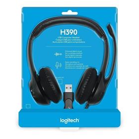 Diadema Logitech H390 Usb Audifono Con Microfono