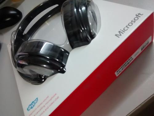 diadema microsoft lx-3000 micrófono c/selfiestick de regalo
