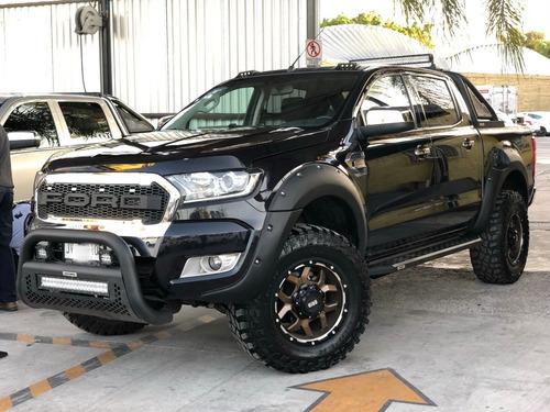 diadema moldura barra techo led ford ranger 2013-2019