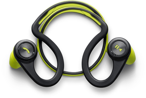 diadema plantronics bluetooth backbeat fit green