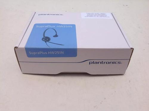 diadema plantronics hw251 nueva p/ call center envio gratis!