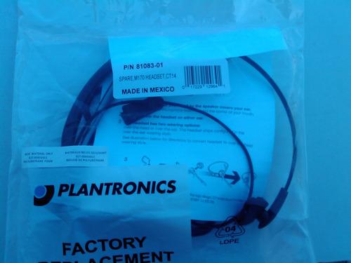diadema plantronics para ct14