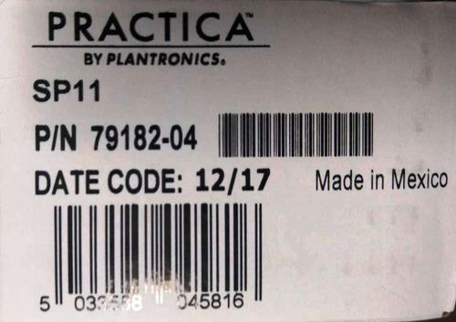 diadema plantronics sp11 entrada plug rj45 repuesto t110