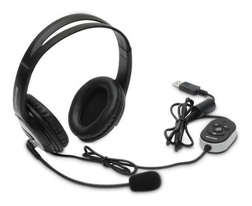 diadema usb stereo con micrófono, microsoft lifechat lx-3000