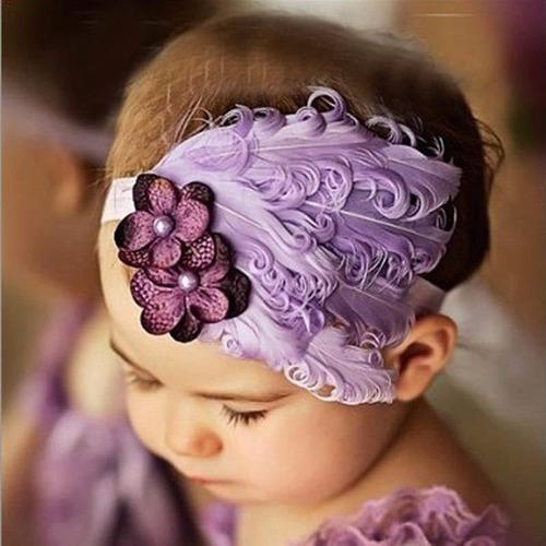 diademas con moño niña bebe banditas adornos cabello