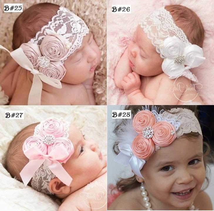 Felpas Para Bebes Fabulous Bella Bebe Diadema Flor Rosa Felpas Para