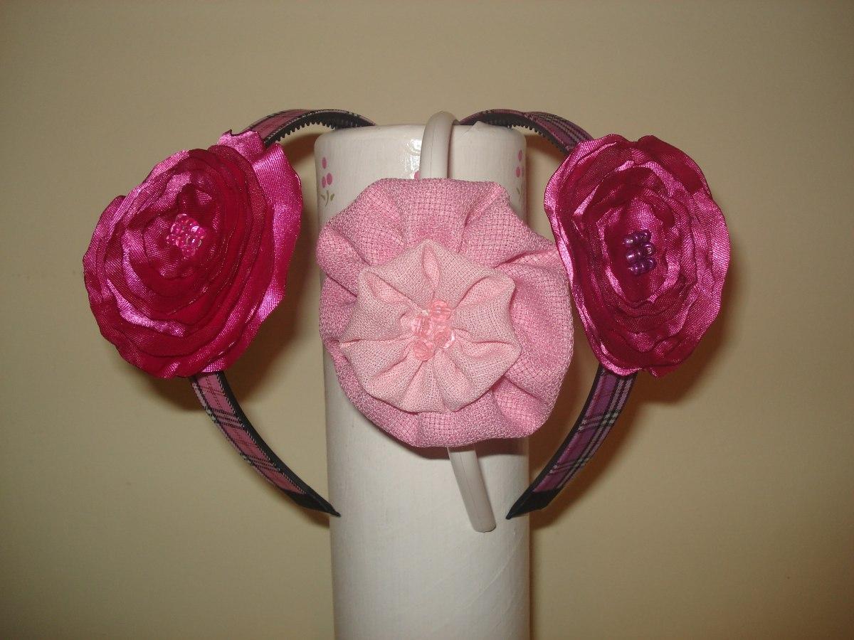 diademas para nias y adolecentes flores de tela daa
