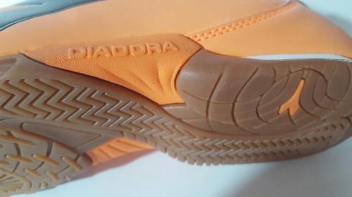 diadora campione para futsala suela de goma 100% originales